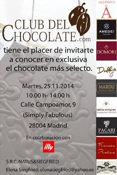 Chocolate Tasting in Madrid