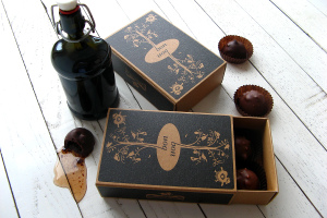 Rum Liqueur filled chocolates