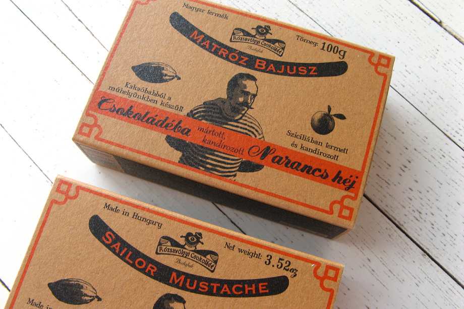 Organic Orange-Sailor Mustache