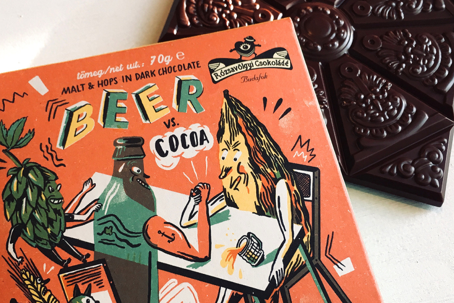 Beer Chocolate